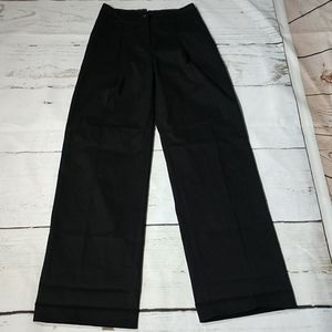 Anthropologie The Essential Wide-leg Black Size 0